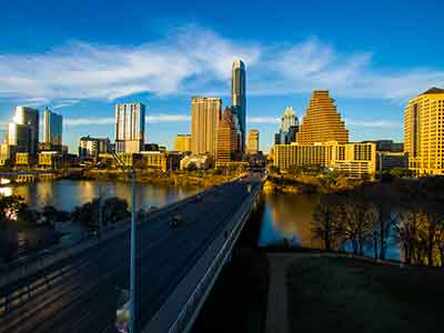 Austin and Fort Worth