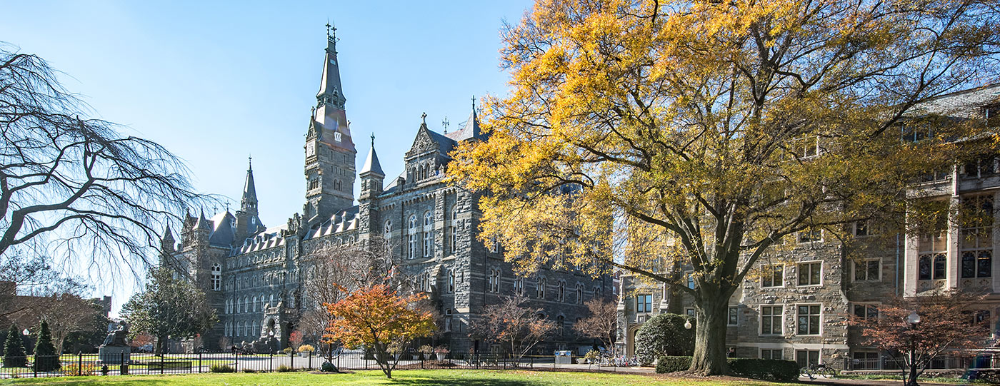 Georgetown uses CORT Furniture for faculty housing