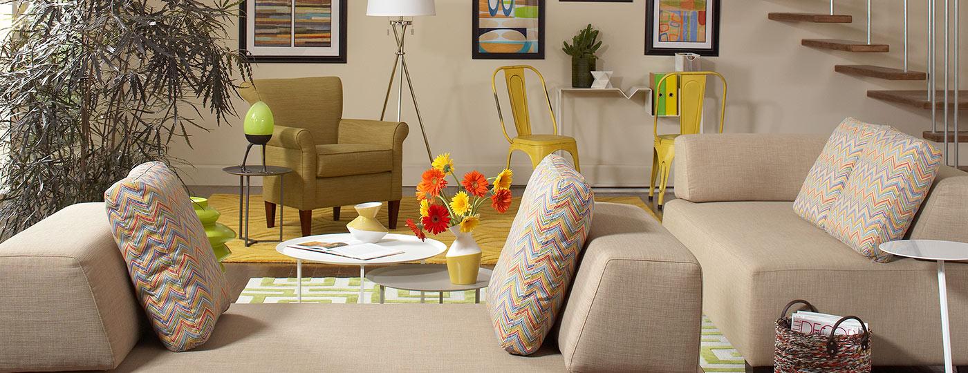 Furnished apartment unit
