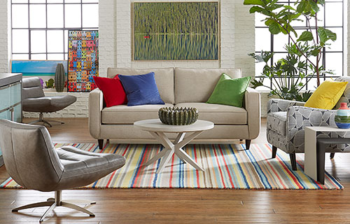 Addison sofa with Preson coffee table