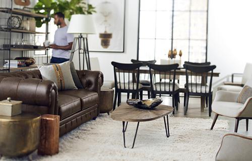 Danish Modern Nielsen with Hendrick Living Room Set