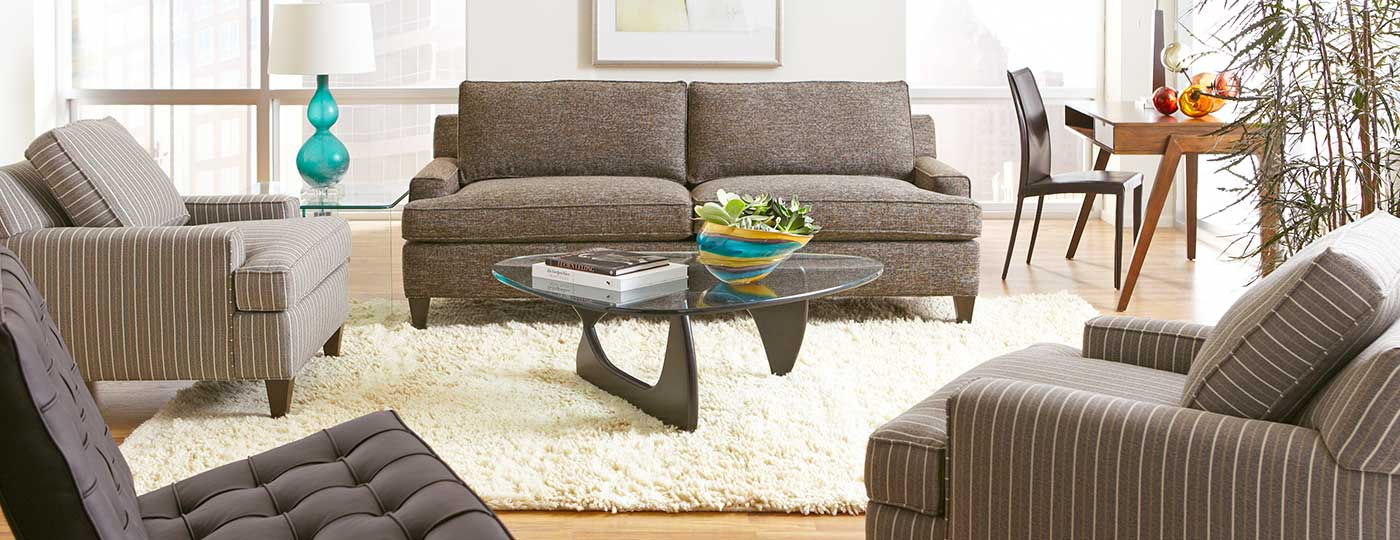 Chelsey sofa with wingut tables