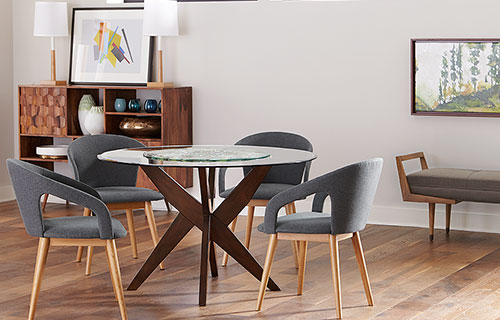 Simpson Table with Hutton Chairs