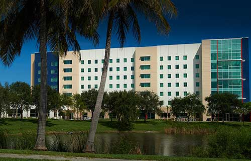 Florida Atlantic University residence hall