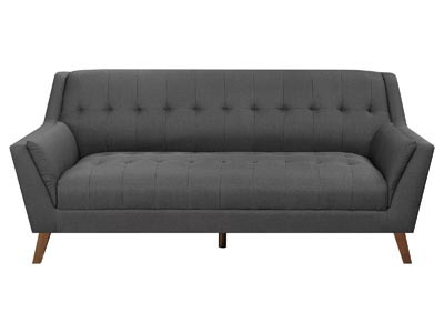 Rent the Benetti Charcoal Gray Sofa