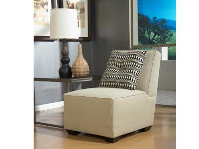 Cashmere Armless Chair