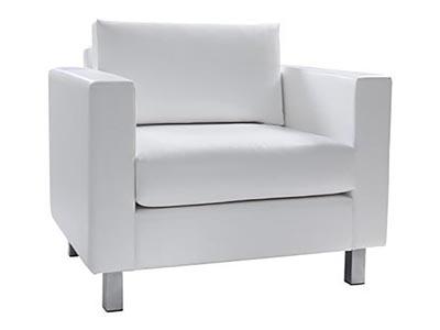 Roma White Chair