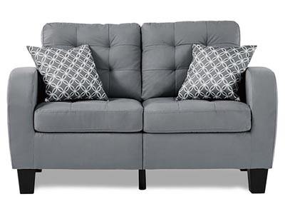 Rent the Sinclair Gray Loveseat