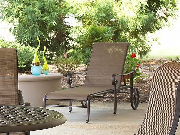 Rent the Santa Barbara Outdoor Chaise