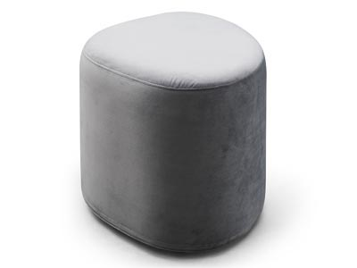 Rent the Intersect Grey Ottoman