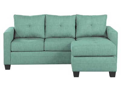 Rent the Phelps Green Reversible Sofa/Chaise