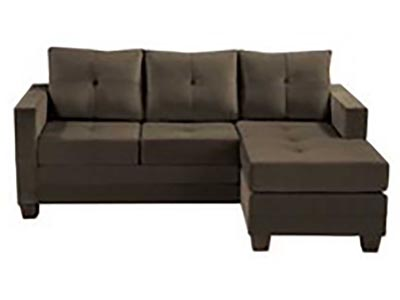 Rent the Phelps Brown Reversible Sofa/Chaise