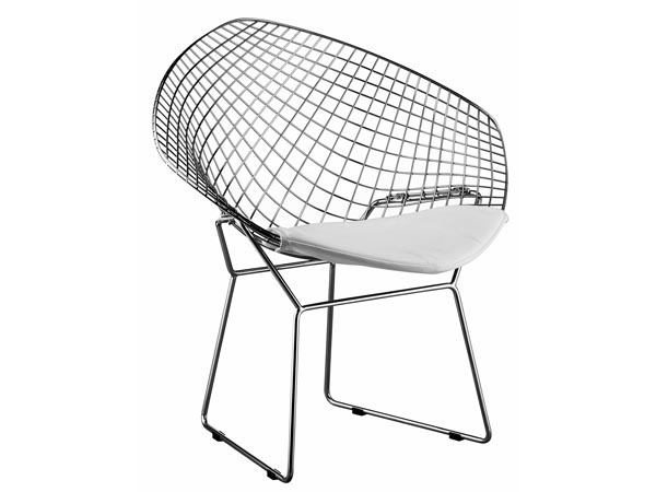 Rent the White Net Chair