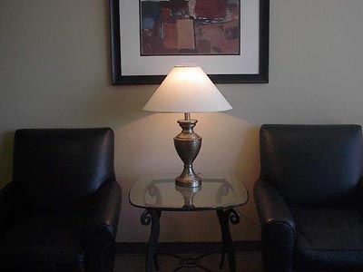 Hammered Brass Table Lamp