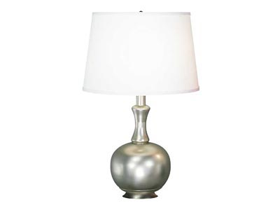 Rent the Silver Ball Table Lamp
