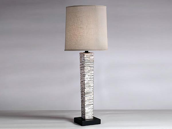 Rent the Sun Silver Table Lamp