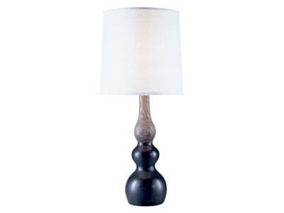 Peruvian Bark Onyx Table Lamp