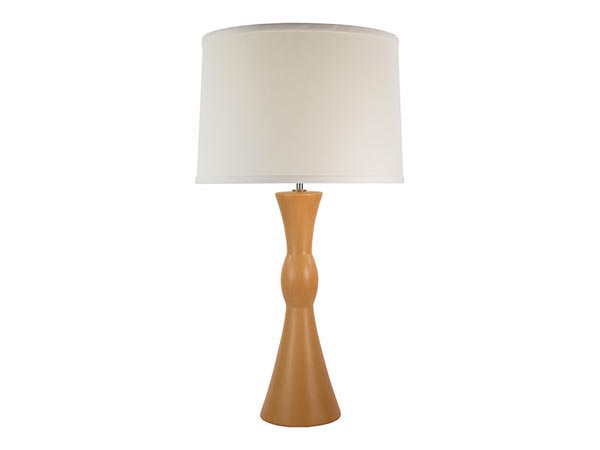 Rent the Honey Wood Table Lamp