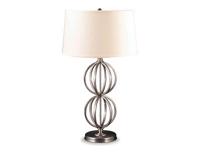 Rent the Silver Gyro Table Lamp