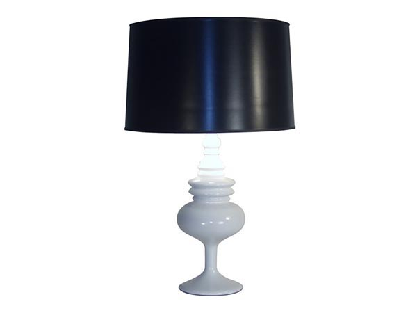 Rent the Gloss White Table Lamp