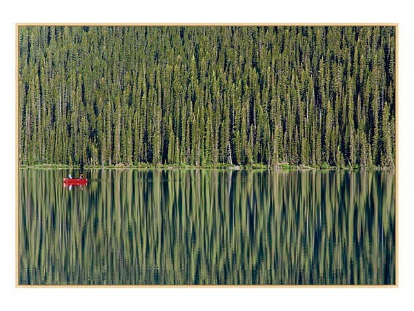 Rent the The Red Canoe Wall Art