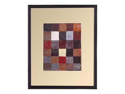 Color Table Framed Artwork