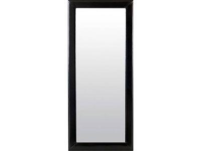 Delaney Black Leaning Mirror