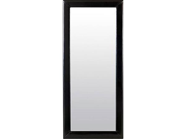 Rent the Delaney Black Leaning Mirror