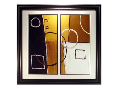 Rent the Ambience I Framed Artwork
