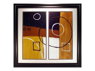 Rent the Ambience II Framed Artwork