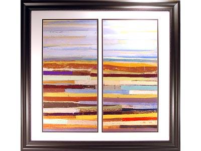 Landform II Framed Wall Art