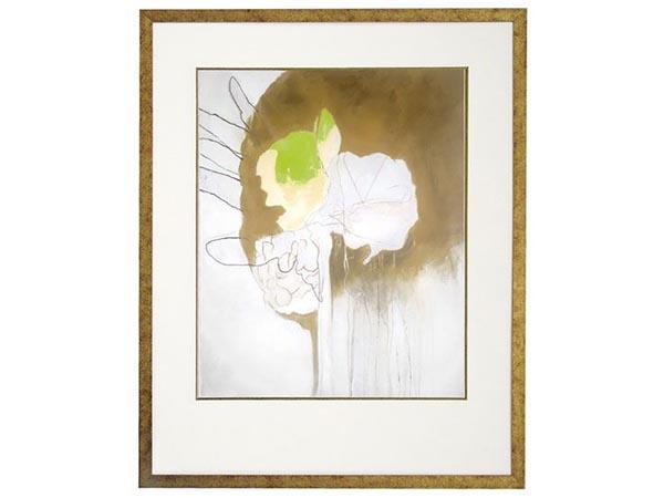 Rent the Flowered Tassel Framed Artwork