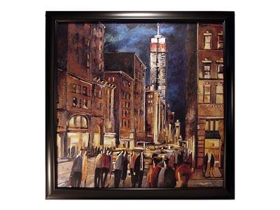 Rent the New York Night Framed Artwork