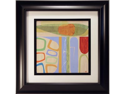 Rent the New Optics IV Framed Artwork