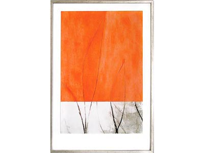 Rent the Orange Crush Framed Artwork