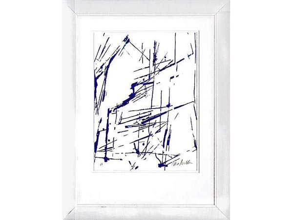 Rent the Blue Ginger Framed Artwork