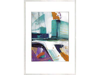 Rent the Purple Hangout Framed Artwork
