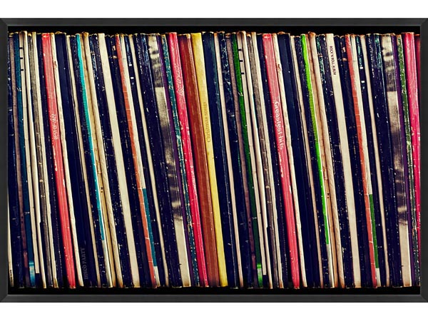 Rent the Record Collection Framed Wall Art