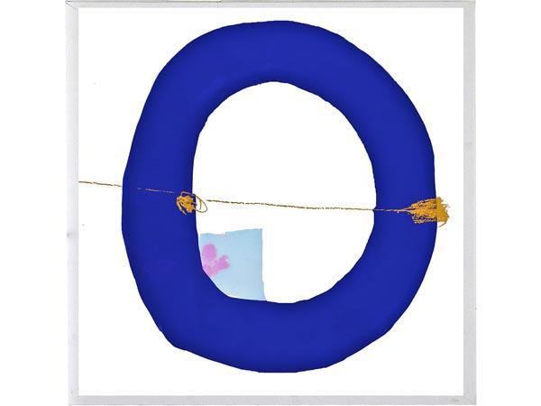 Rent the Blue Circle Framed Artwork