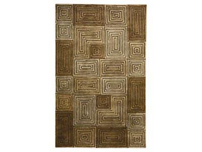 Andes Bronze 5'x8'  Area Rug