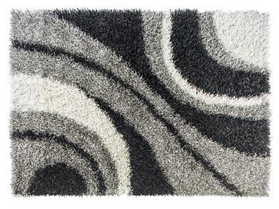 Shag Multi-colored 9'x9' Area Rug