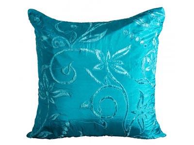 Silk Turquoise Pillow