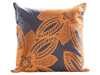 Flower Pillow, Orange
