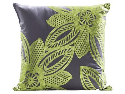 Flower Pillow, Green