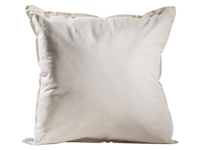 Solid Pillow, Ivory