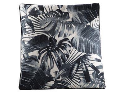 Tropical Pillow, Black