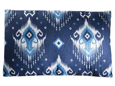 Tribal Pillow, Blue