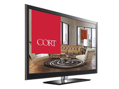 "Rent the 42"" TV"