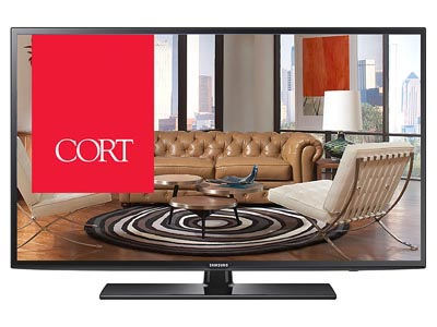 "Rent the 65"" Smart TV"