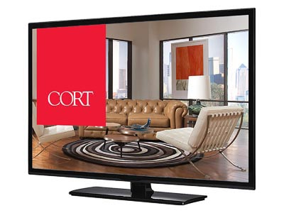 "Rent the 48"" LED SMART ROKU 1080p"